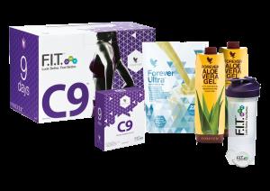 Körperreinigung mit Clean9, Geschmacksrichtung Vanilla
