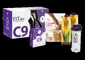 Körperreinigung mit Clean9, Geschmacksrichtung Chocolate